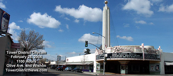 Tower City Cam - Fresno's Tower District